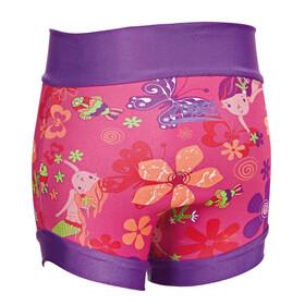 Zoggs Mermaid Flower Swimsure Badebukser Børn, pink/multi